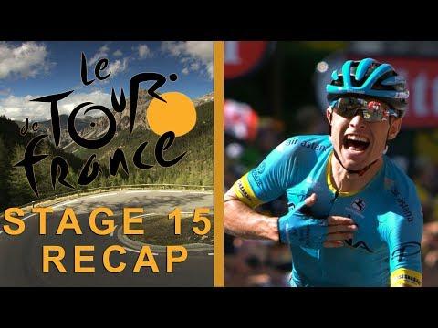 Tour de France 2018: Stage 15 Recap I NBC Sports