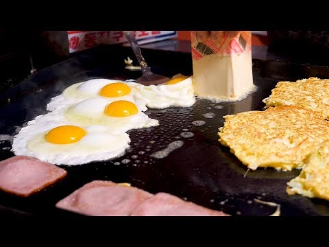 Egg fried Toast - Korean Street Food