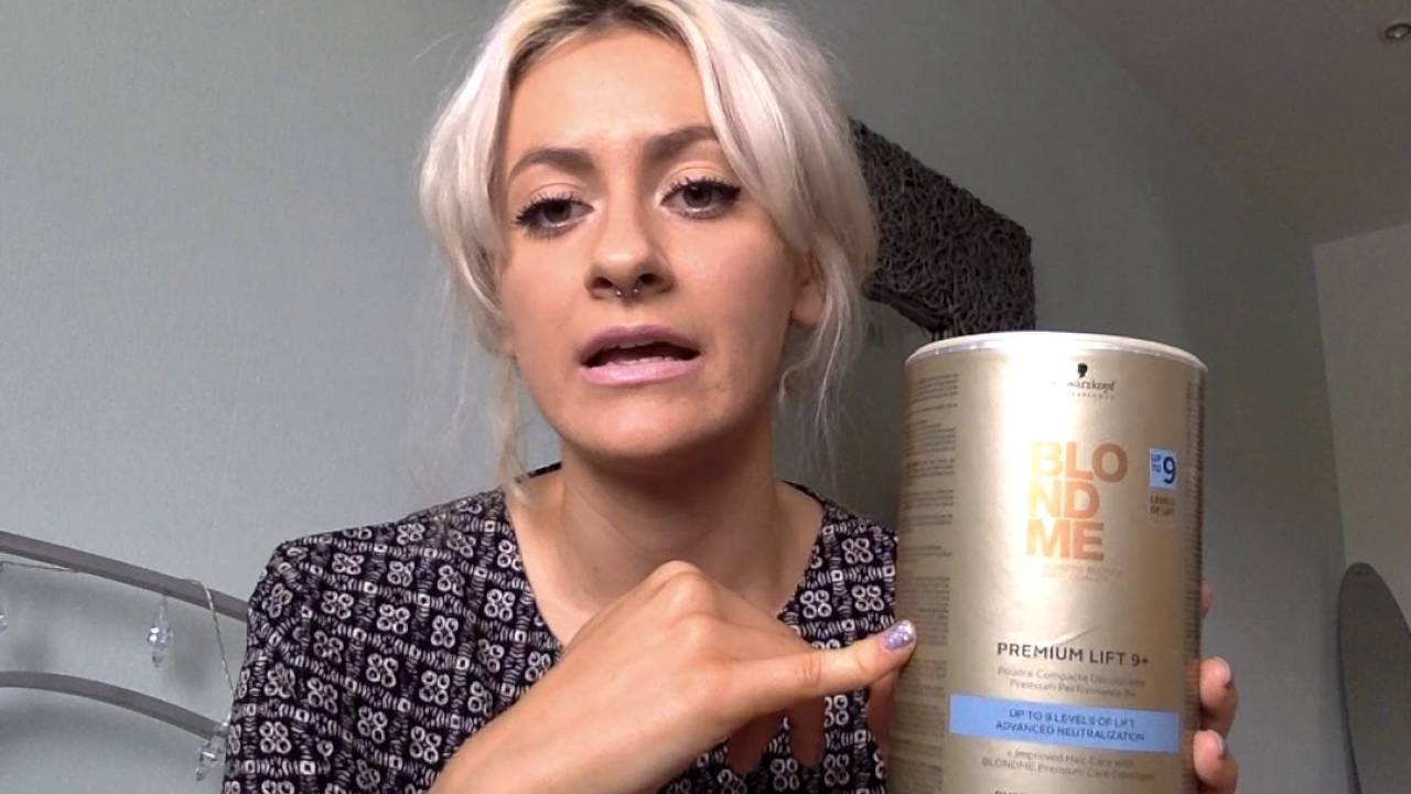 How I Bleached My Hair At Home Brown To Platinum