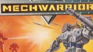Classic Game Room - MECHWARRIOR review for Super Nintendo