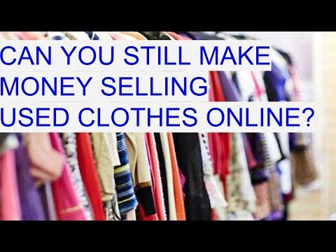 51f938a942a Can You Make Money Buying and Selling Clothes On eBay  How To Make Money on  Ebay ECommerce 2017