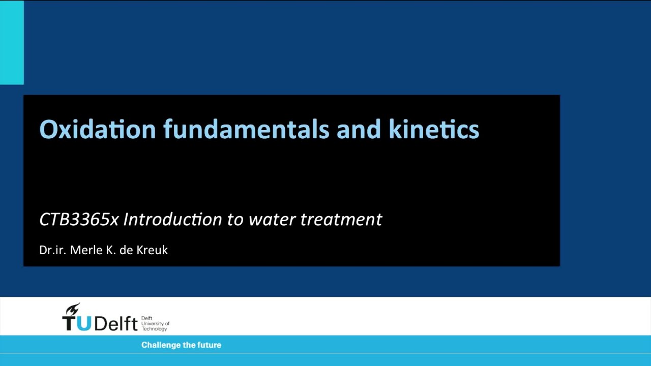 W3a - Oxidation fundamentals and kinetics