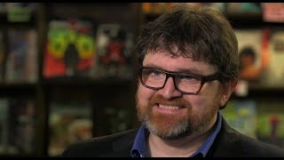 """Ready Player One"" author and fanboy Ernest Cline"