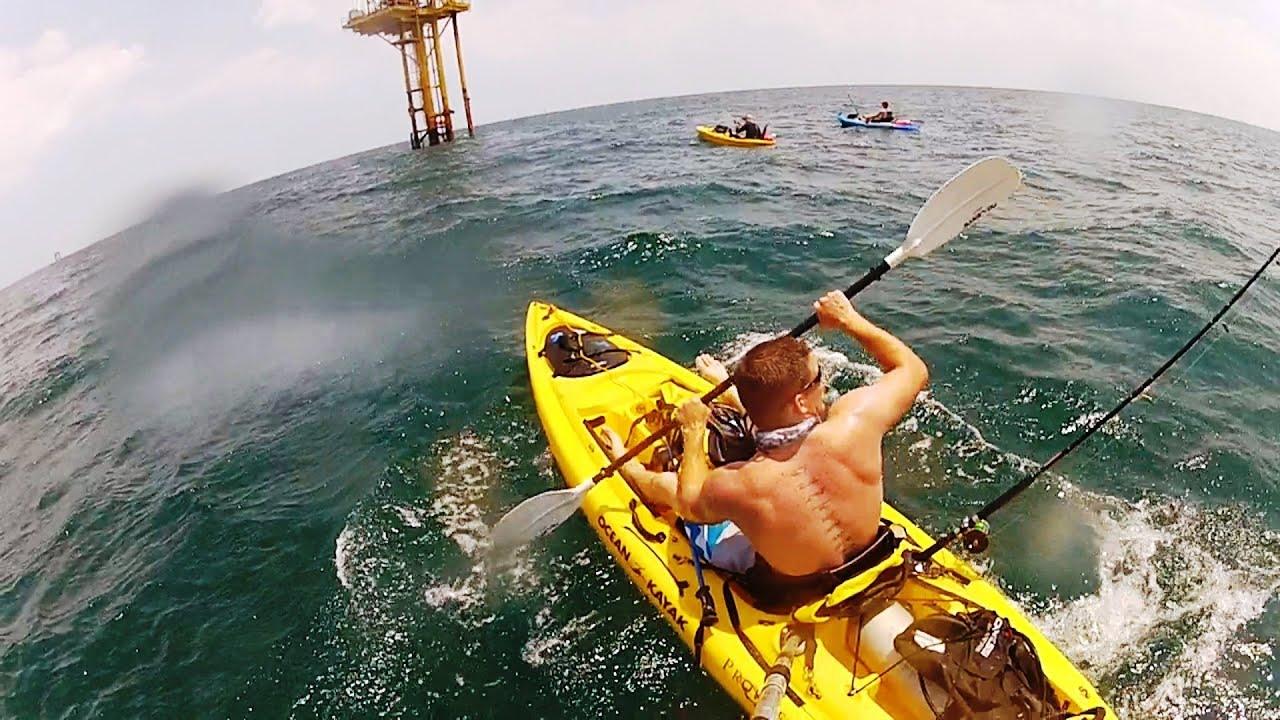 Ocean Kayak Oil Rigs And Scuba