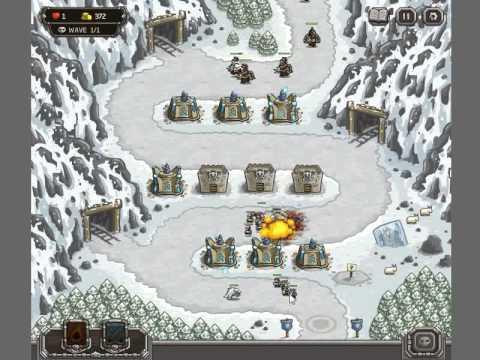 Kingdom Rush #07 Coldstep Mines - Iron Challenge Hard