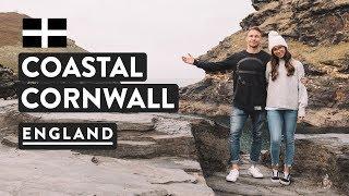 BEST SEASIDE OF ENGLAND? CORNWALL COAST ❤️ | UK England Travel Vlog | Boscastle & Tintagel