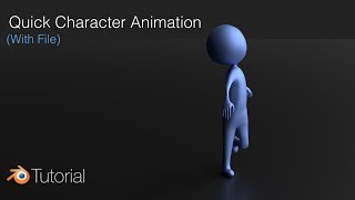 Quick Character Rigging in Blender: Animation Tutorial
