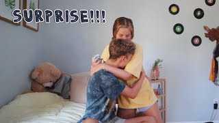 Surprising my boyfriend with a Nintendo Switch *he cried*