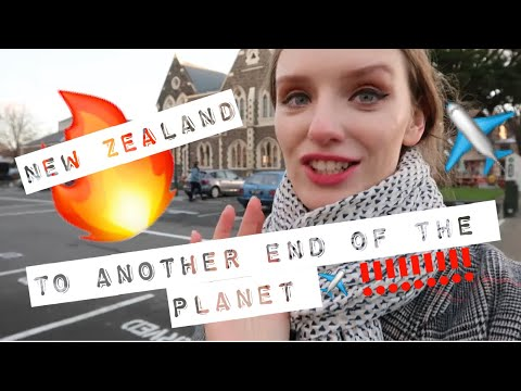 TRAVEL VLOG: ALL THE WAY TO NEW ZEALAND AGAIN ! THIS ARCHITECTURE IS TO DIE FOR