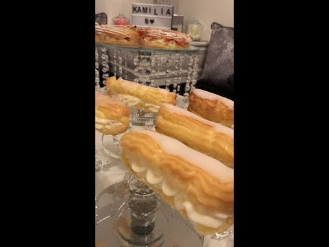 eclairs-vanille-/-chantilly-fraises-au-thermomix
