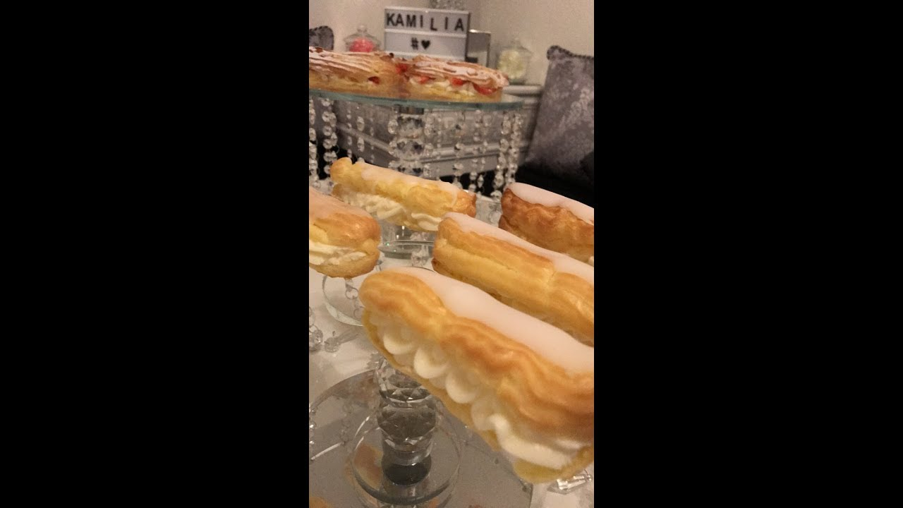 Eclair vanille au thermomix
