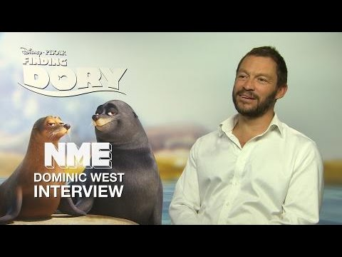 Finding Dory: Dominic West on improvising with Idris Elba and pitching Pixar sequels
