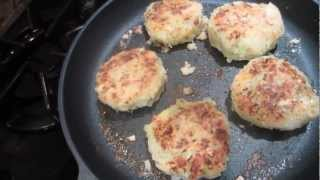 Colcannon Cakes (an Irish Favorite).mpg