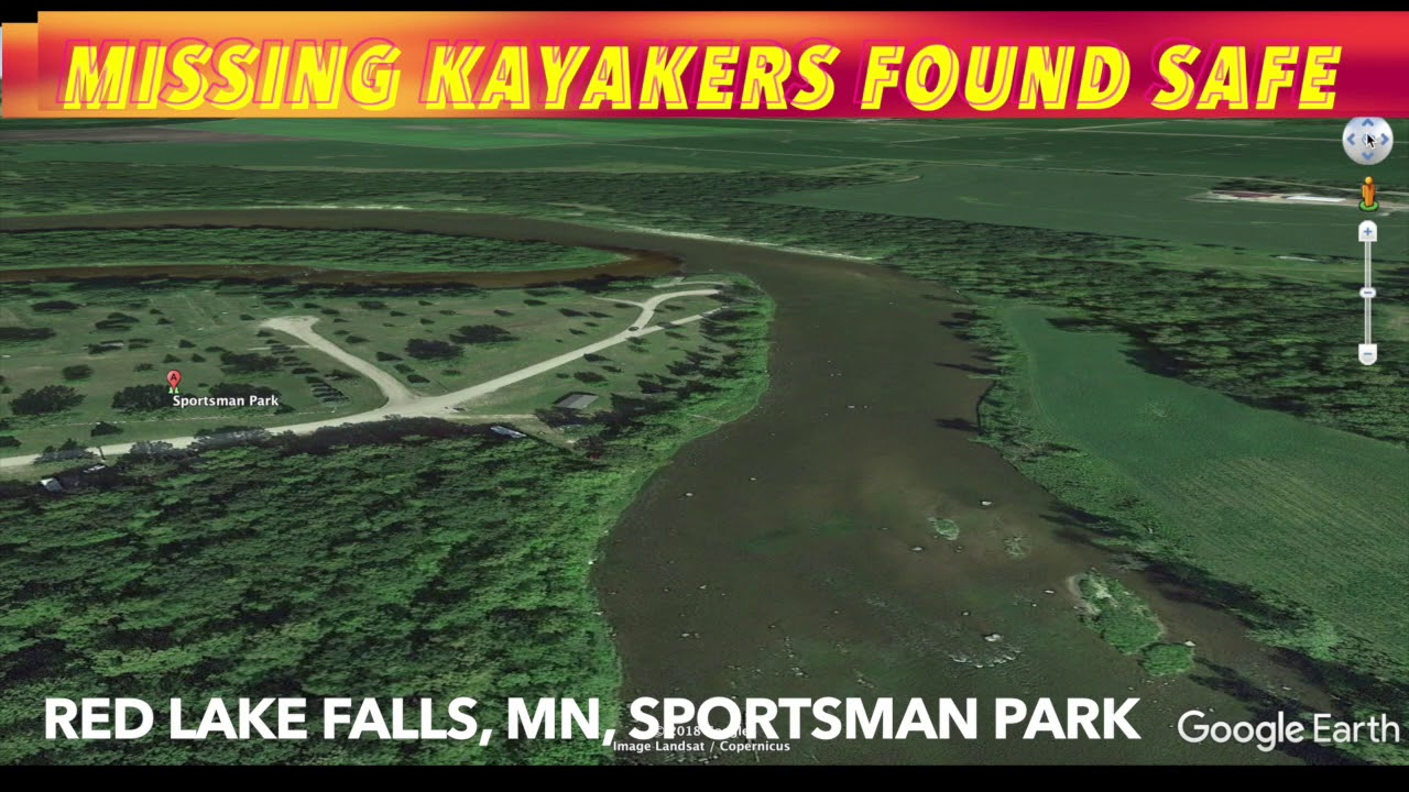 UPDATE: Missing Kayakers Apparently Found Safe By Red Lake