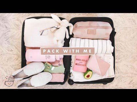 Pack With Me ✈️ NYC → LA (& Packing Hacks!) | Veggiekins