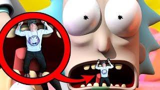 РИК И МОРТИ ПЫТАЮТСЯ МЕНЯ СЪЕСТЬ НА ПОМОЩЬ Rick and Morty Virtual Rick ality