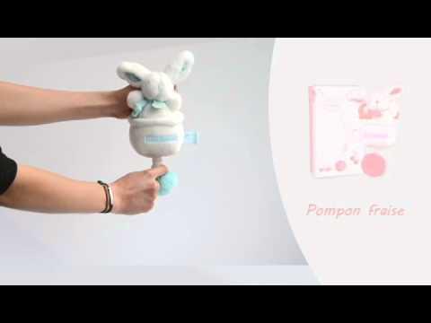 Boîte à musique Lapin Pompon