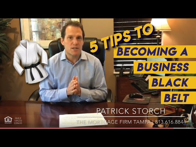 5 Tips | Becoming a Business Black 🥋 Belt