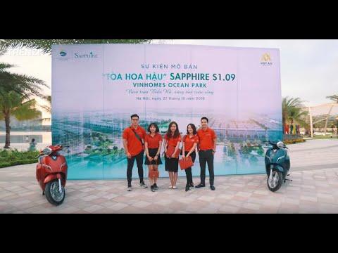 """[Trenzi Agency x Việt An Property ] Sự Kiện Mở Bán """"Toà Hoa Hậu"""" Sapphire S1.09"""