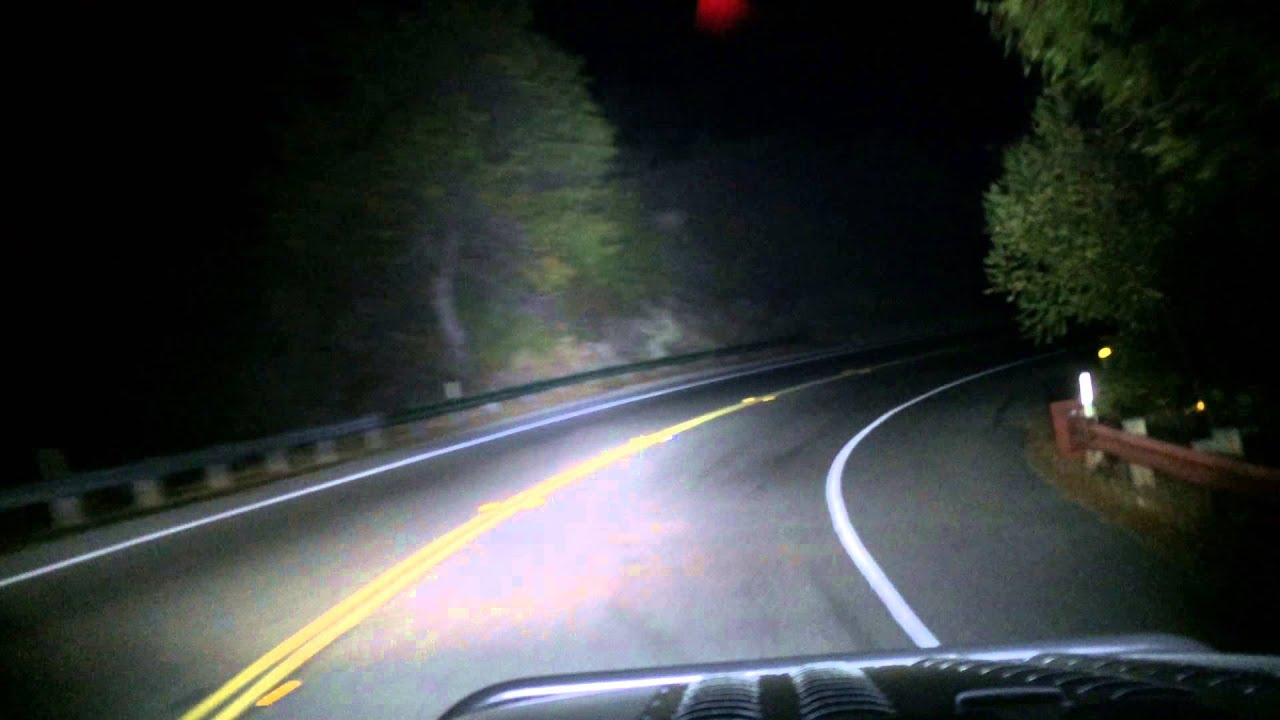 Build A Jeep >> Jeep Punisher Edition Ep.56 - Topanga Canyon Run Night time Driving Video - No Bragging Rights ...