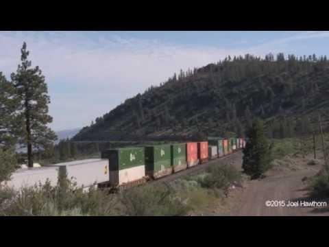 Railfanning DUNSMUIR part 1 of 2 June 17 - 21, 2015