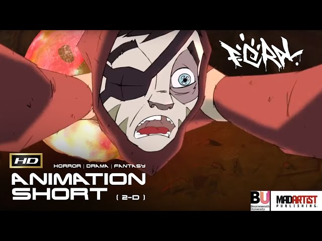 FERAL | 2D Animation Film - A boy consumed by a drug leads to horror (Bouremouth University)
