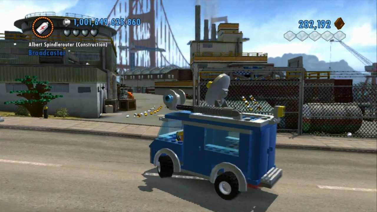 Lego City Undercover Vehicle Guide All Heavy Vehicles In Action Youtube