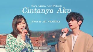 Download Cover | Cintanya Aku (Korean ver) - CHANGHA, ARI (REDSQUARE) (Tiara Andini, Arsy Widianto)