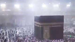 Heavy Rain In Masjid Al Haram, Makkah Yesterday