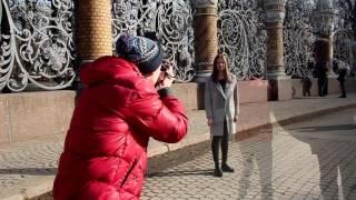 Фотосессия в центре Санкт-Петербурга