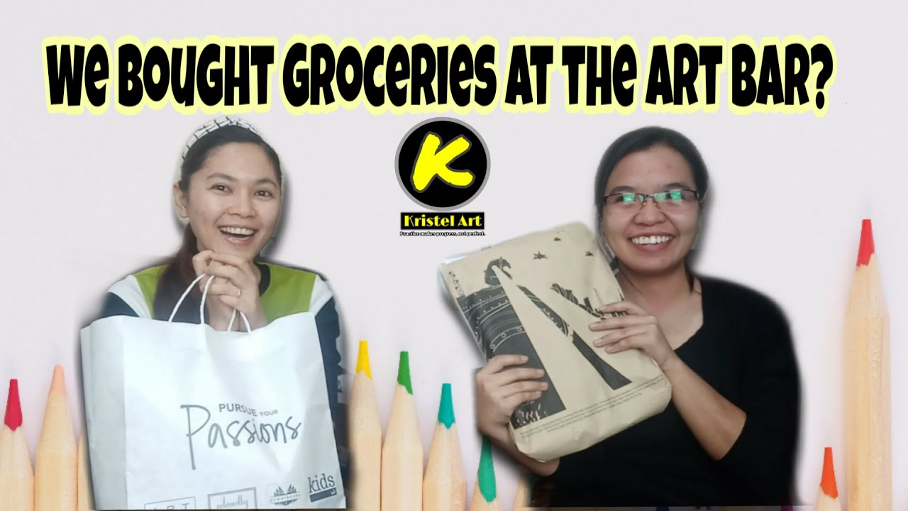 We Bought Groceries at the Art Bar?