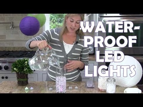 Submersible Led Lights By Floralyte Youtube