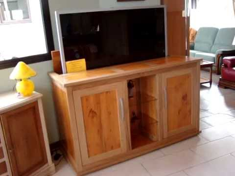 meuble tv elevateur youtube. Black Bedroom Furniture Sets. Home Design Ideas