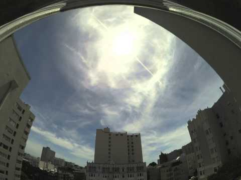 Chemtrails over San Francisco, 5-2-14