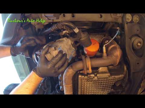 Compressor Replacement 01 Ford Escape 3 0l Youtube