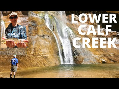 Fish & Hike, Lower Calf Creek (Falls), Grand Staircase- Escalante, Utah