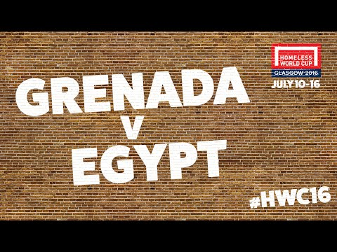 Grenada v Egypt | Group A #HWC2016