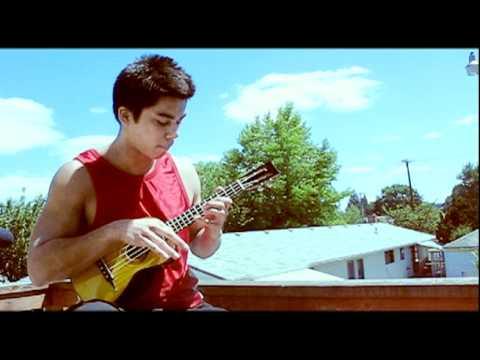 While My Guitar Gently Weeps - Jake Shimabukuro (ukulele solo cover by Travis Stine)