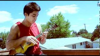 While My Guitar Gently Weeps - Jake Shimabukuro (ukulele solo cover by Travis Stine)