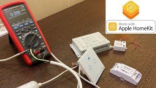 Apple HomeKit za grosze - Sonoff Basic, Sonoff Mini, Sonoff 4CH Pro, SonOff Touch [TechVlog]