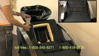 Porschea Electric Shampoo Chair with Massager