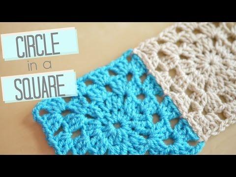CROCHET: Circle in a square | Bella Coco