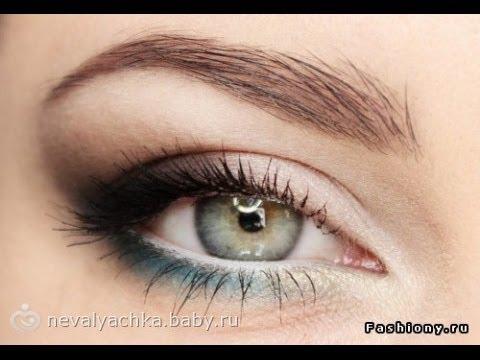 Дневной макияж * как увеличить глаза * Пошаговый *