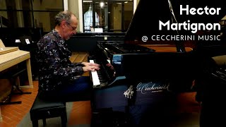 HECTOR MARTIGNON AT CECCHERINI MUSIC