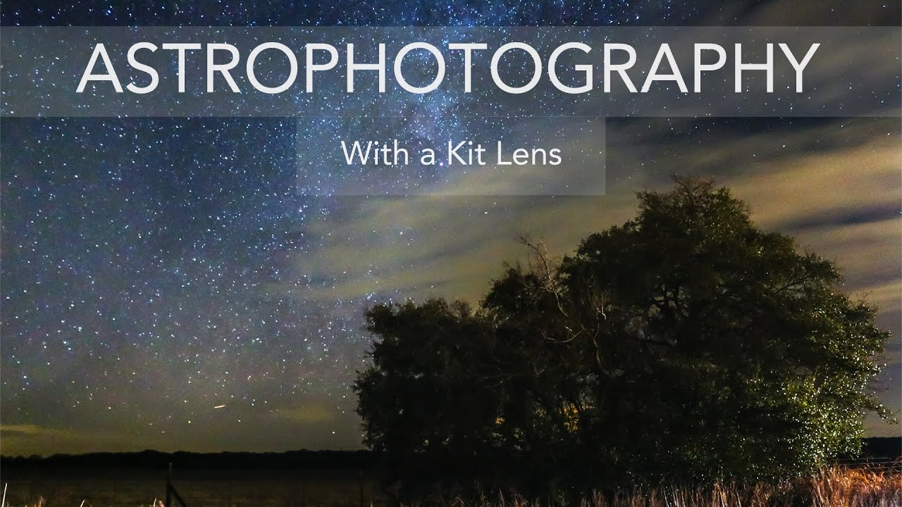 Astrophotography With A Kit Lens - Canon EOS 70D - RRR Vlog #4