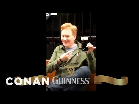 Conan's Unsolicited Guinness Ad  - CONAN On TBS