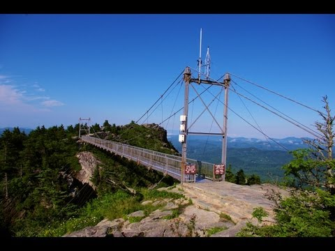 Grandfather Mountain Mile-High Swinging Bridge