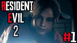 видео: ОН? ВЕРНУЛ?СЬ!  RESIDENT EVIL 2: Remake #1