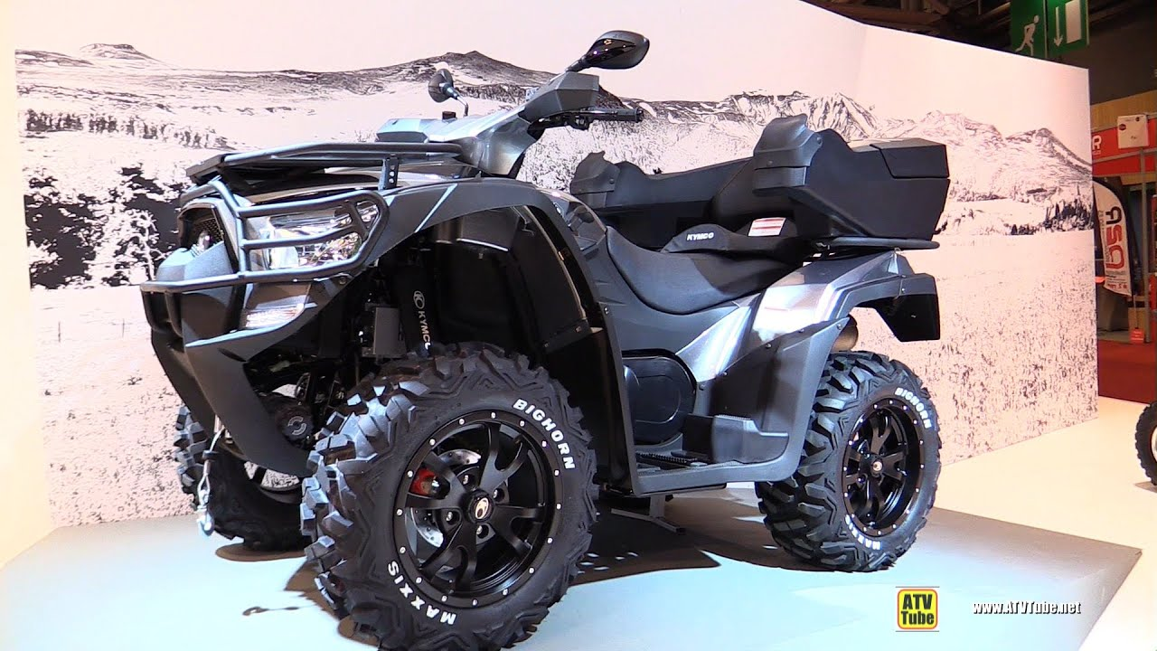 2016 kymco mxu 700i ex eps recreational atv walkaround 2015 salon de la moto paris youtube. Black Bedroom Furniture Sets. Home Design Ideas