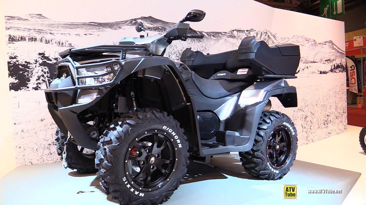 quad kymco 700 mxu 2015